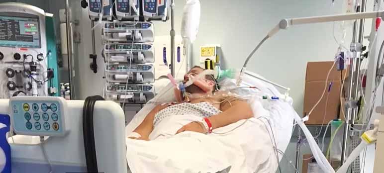 Screenshot: Mann durch Nebenwirkungen von Diät-Pillen ins künstliche Koma versetzt