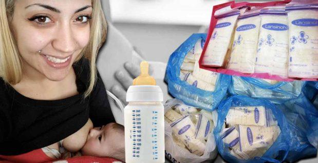 Titelmilch: Frau verkauft Muttermilch an Bodybuilder und Co.