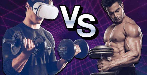Titelbild: Virtual Reality vs. klassisches Training
