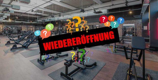 Wann öffnen Fitness Studios Wieder
