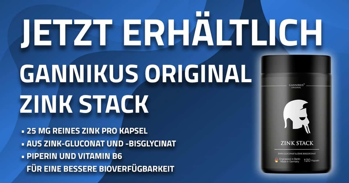 GANNIKUS Original Zink Stack