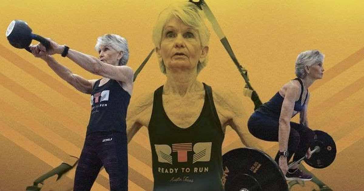 Titelbild: Die 73-jährige Judy Cole will Menschen jeden Alters zum Sport motivieren