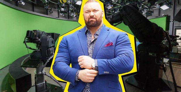 Titelbild: Hafthor Björnsson bekommt eigene TV-Show