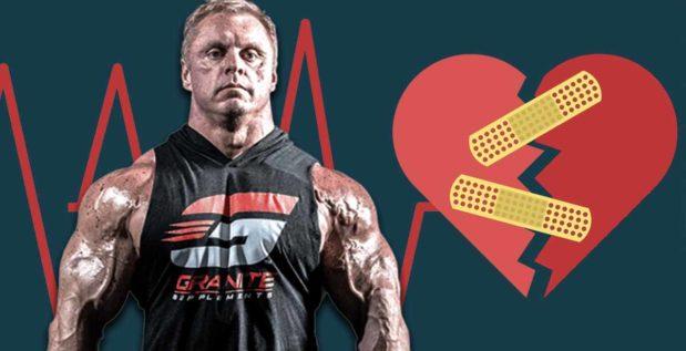 Titelbild: So steht es um die Gesundheit von John Meadows nach Herzinfarkt