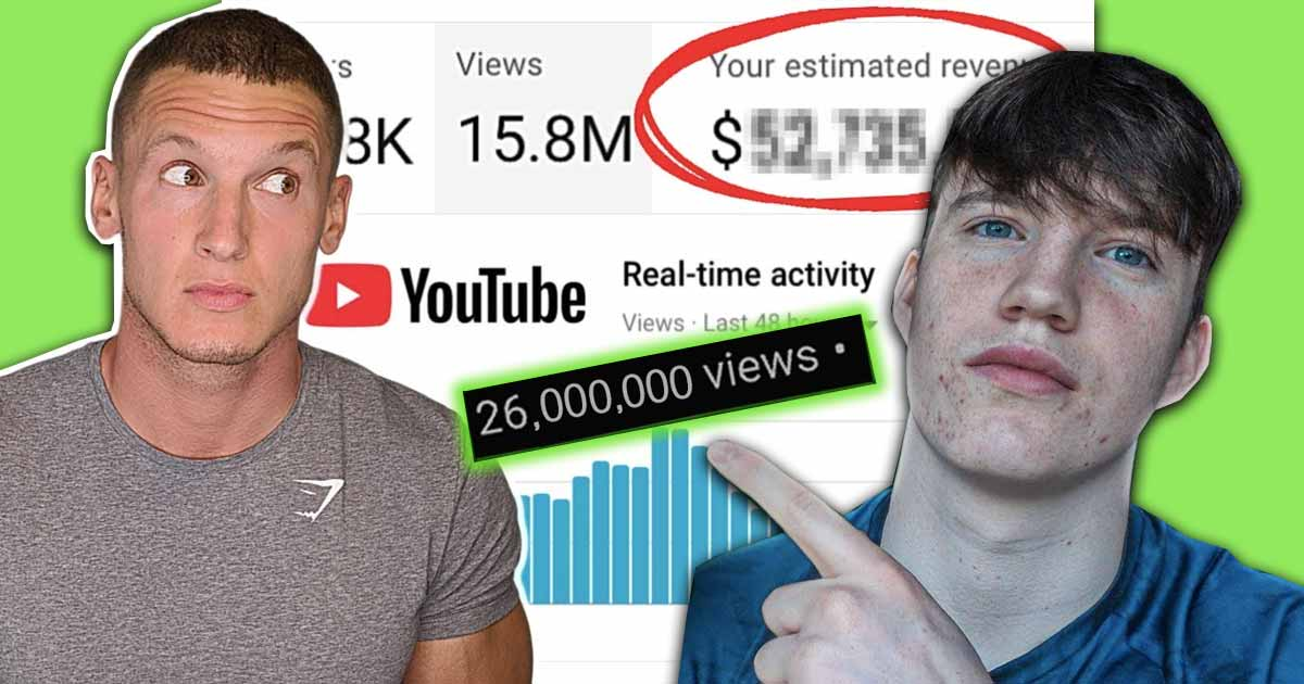 Titelbild: So viel Geld verdienen Fitness-YouTuber mit ihren Videos
