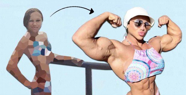 Titelbild: Nataliya Amazonka teilt Bilder ihrer beeindruckenden Transformation