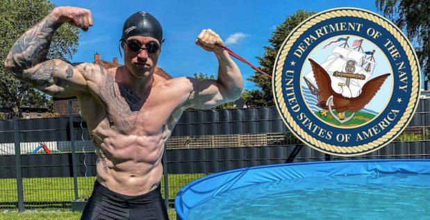 Titelbild: Schmale Schulter wagt sich an den Fitnesstest der Navy Seals