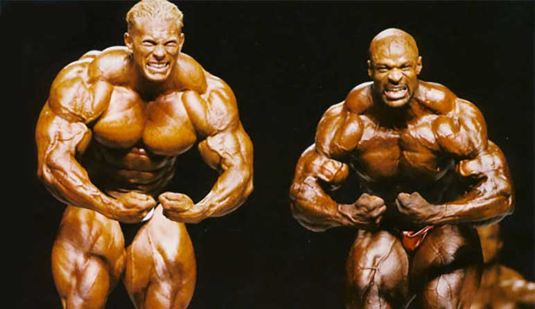 Bild: Dennis Wolf vs. Ronnie Coleman 2007
