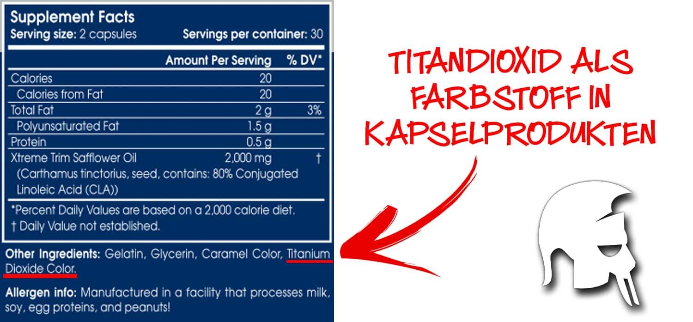 Titandioxid Supplements