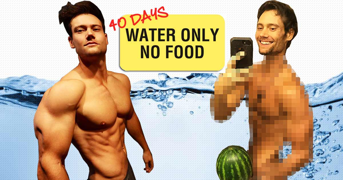 Titelbild: Connor Murphy verzichtet 40 Tage auf feste Nahrung