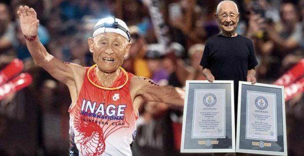 Titelbild: 87-jähriger Hiromu Inada meistert Ironman World Championships als älteste Person!