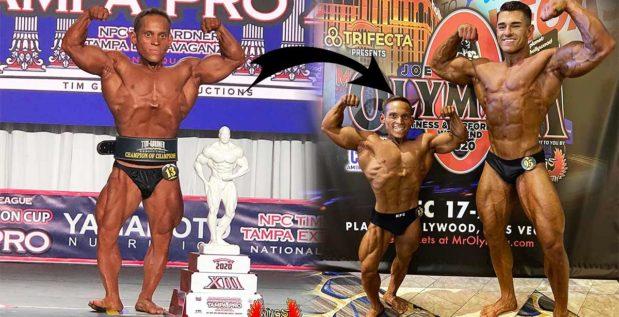 Titelbild: Kleinwüchsiger Bodybuilder Héctor Ramos Amador holt Gesamtsieg in Tampa