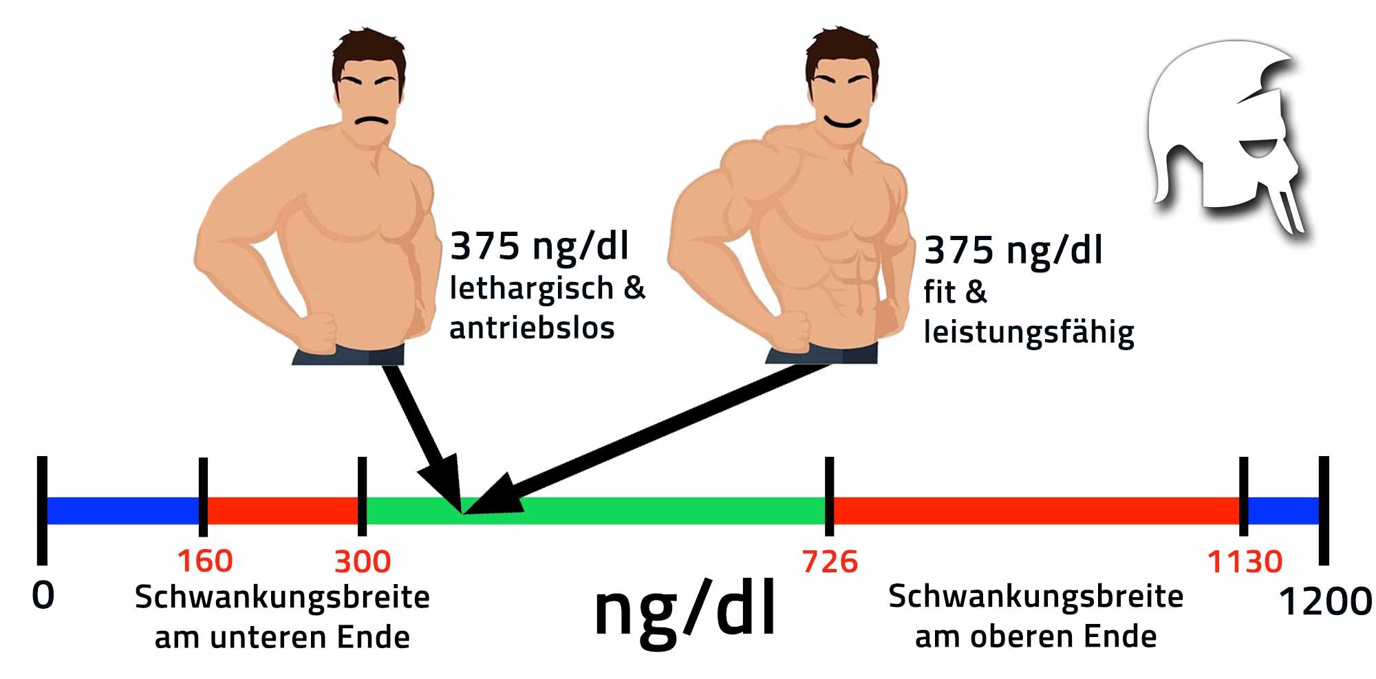 Testosteronspiegel natural steigern