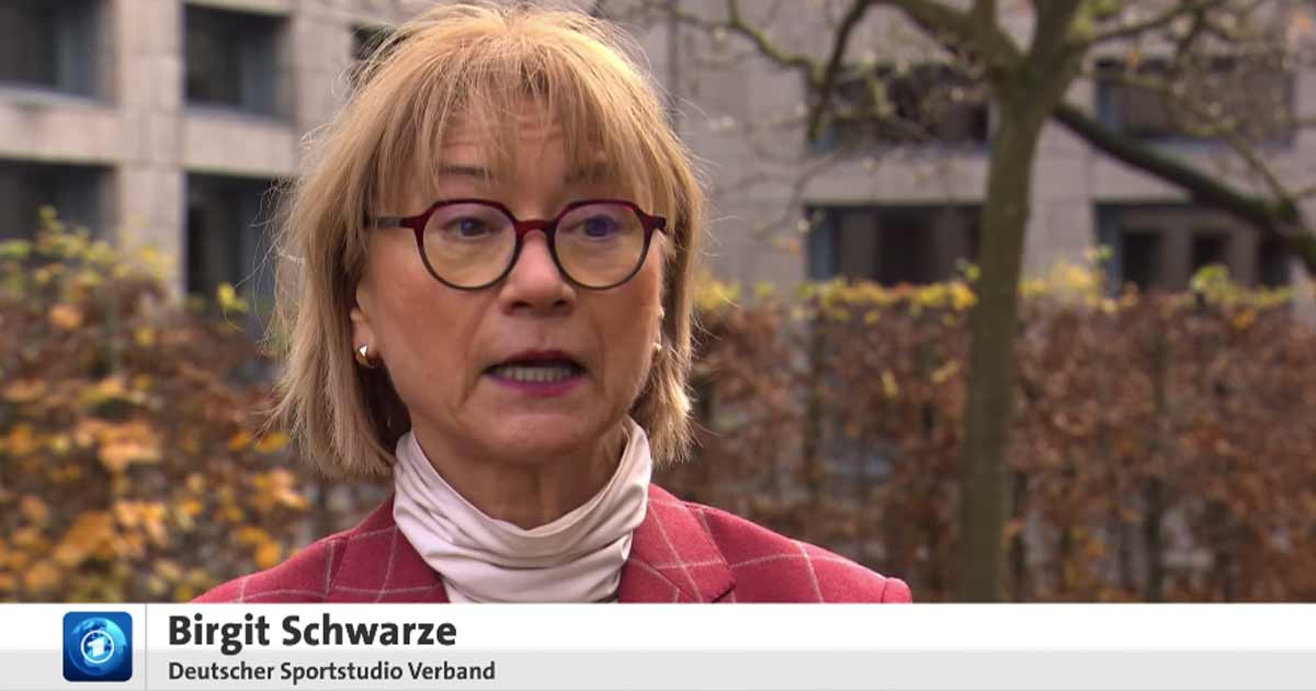 Bild: Interview mit Birgit Schwarze vom Deutschen Sportstudio-Verband