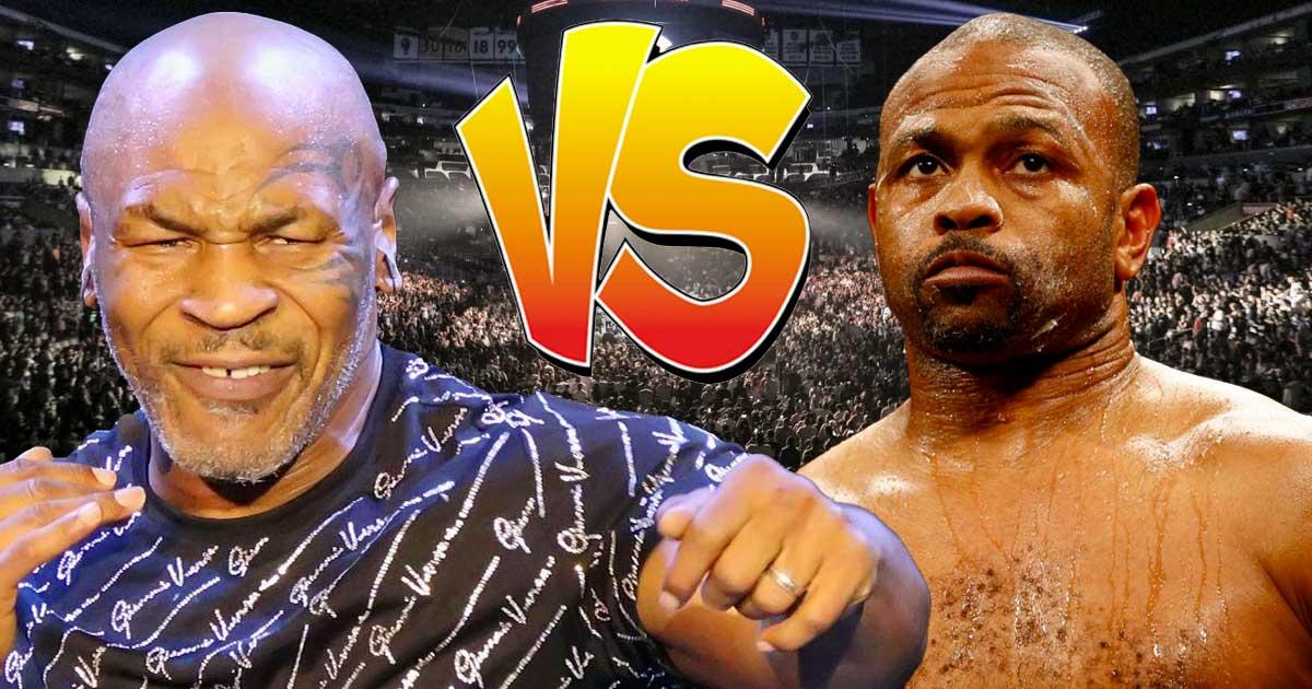 Titelbild: Mike Tyson gegen Roy Jones Jr.