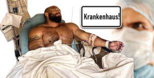Titelbild: Sergio Oliva Jr. wegen Schulterverletzung im Krankenhaus