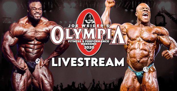 Titelbild: Mr. Olympia 2020 Livestream