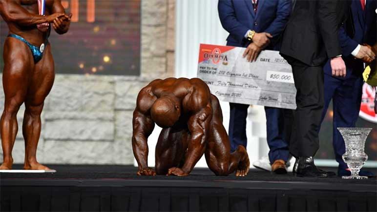 Image: Η Shaun Clarida κερδίζει το τμήμα 212 στους Ολυμπιακούς Αγώνες του 2020
