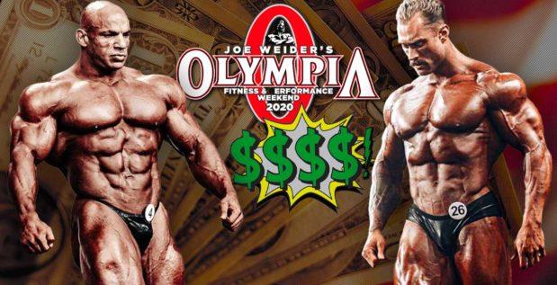 Titelbild: Mr. Olympia 2020 mit Rekord-Preisgeld