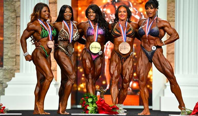 Εικόνα: Κυρία Olympia 2020