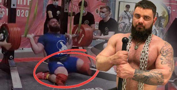 Titelbild: Powerlifter, der sich beide Knie brach, gibt aktuelles Gesundheitsupdate!