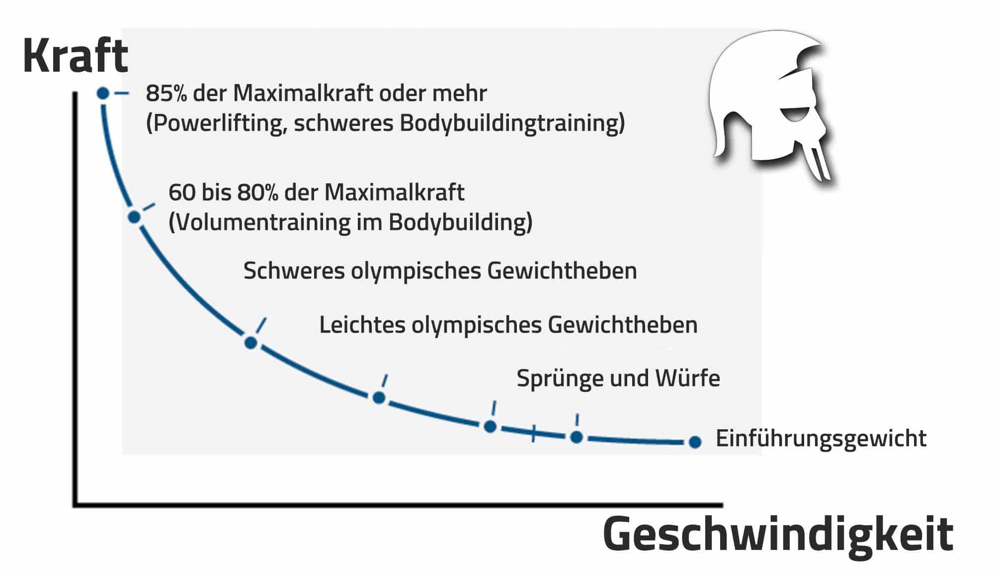 Kraft-Geschwindigkeits-Beziehung Tageszeit Krafttraining