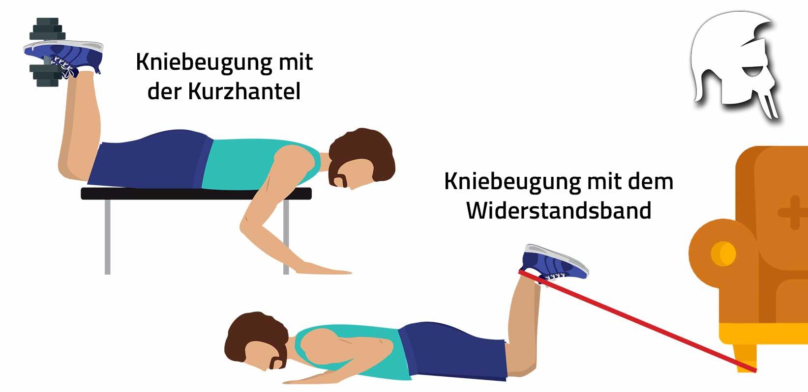 Beintraining zu Hause Beinbeuger