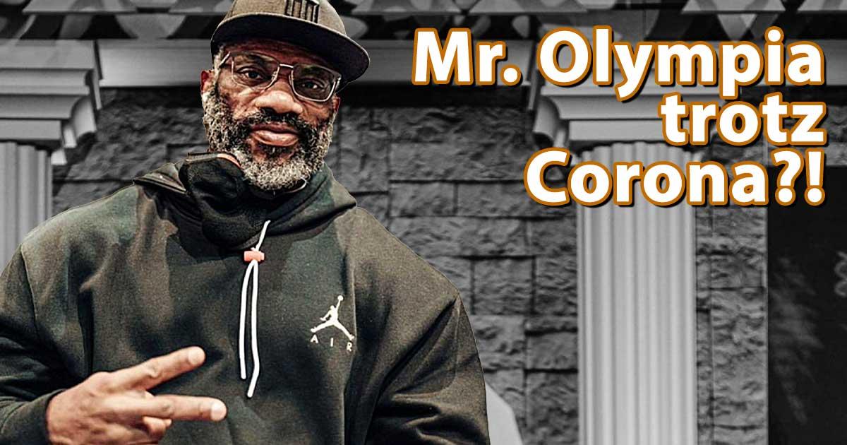 Titelbild: Dexter Jackson hat Corona