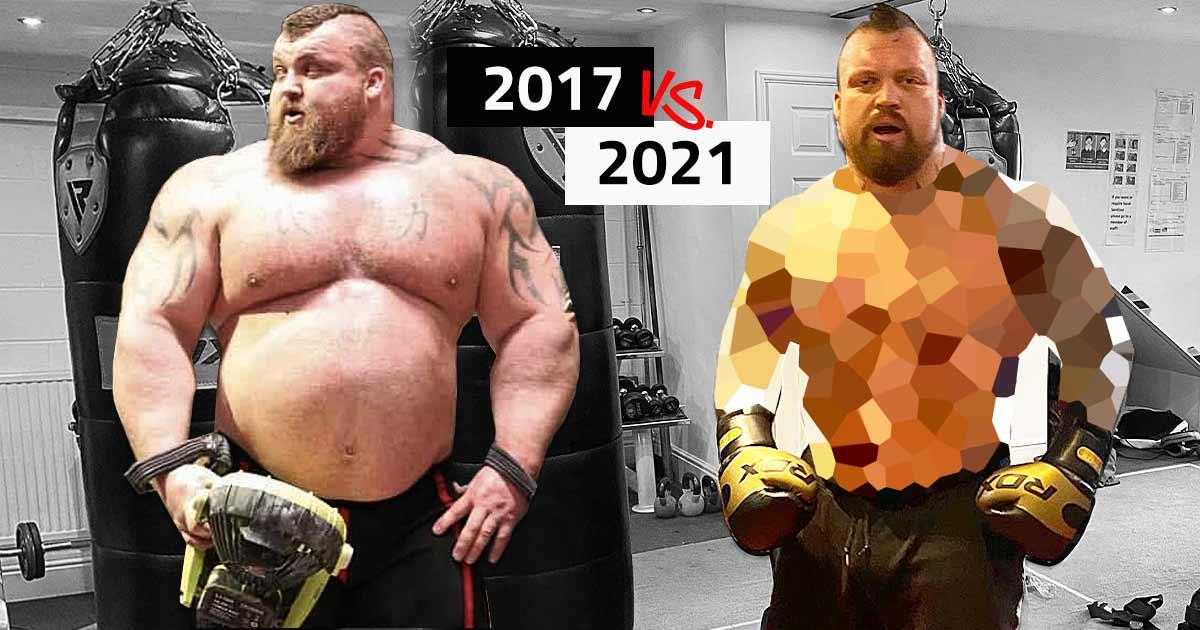 Titelbild: Eddie Hall überzeugt mit neuen Transformations-Bildern!
