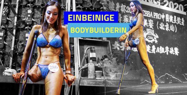 Titelbild: Einbeinige Bodybuilderin erobert Herzen mit Wettkampf-Sieg