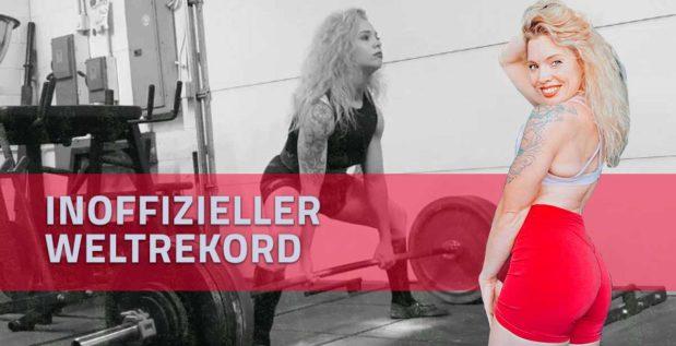 TITELBILD: Heather Connor bewegt 4,4-faches Körpergewicht im Kreuzheben