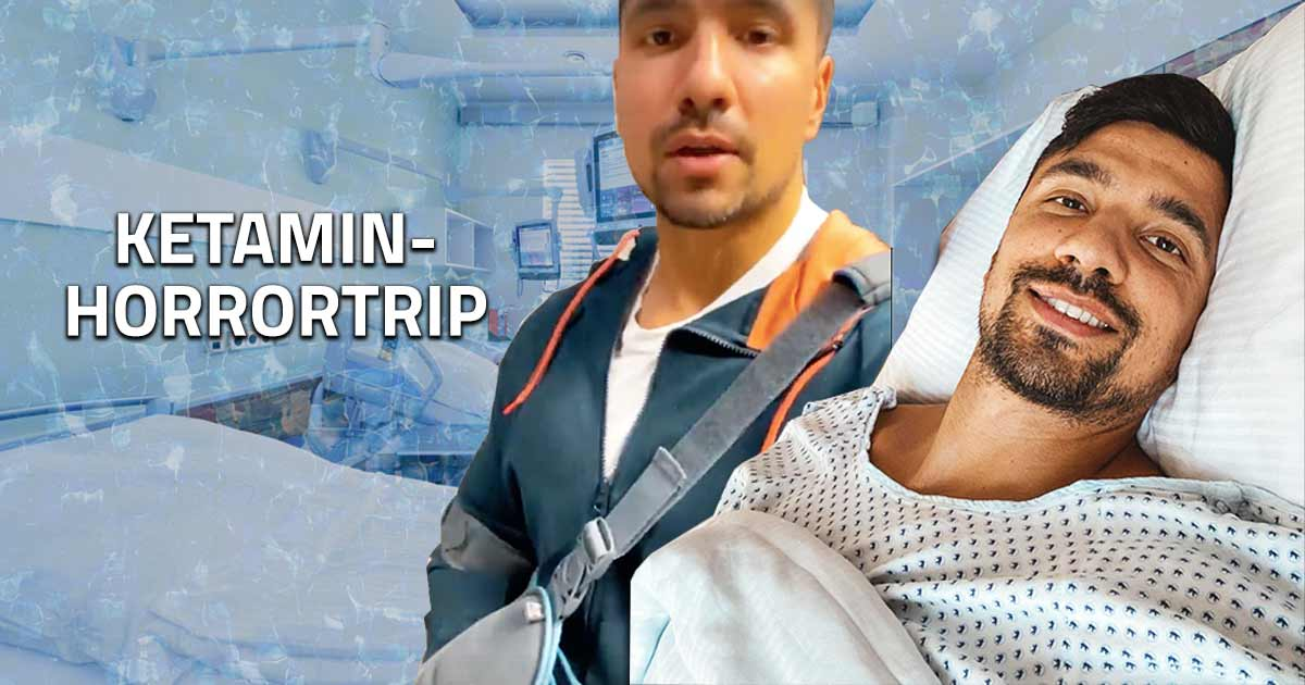 Titelbild: Julian Zietlow unter Alkoholeinfluss verletzt im Krankenhaus!