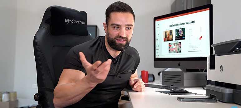 Screenshot: Goeerki über seine Einnahmequellen und wie er Geld verdient