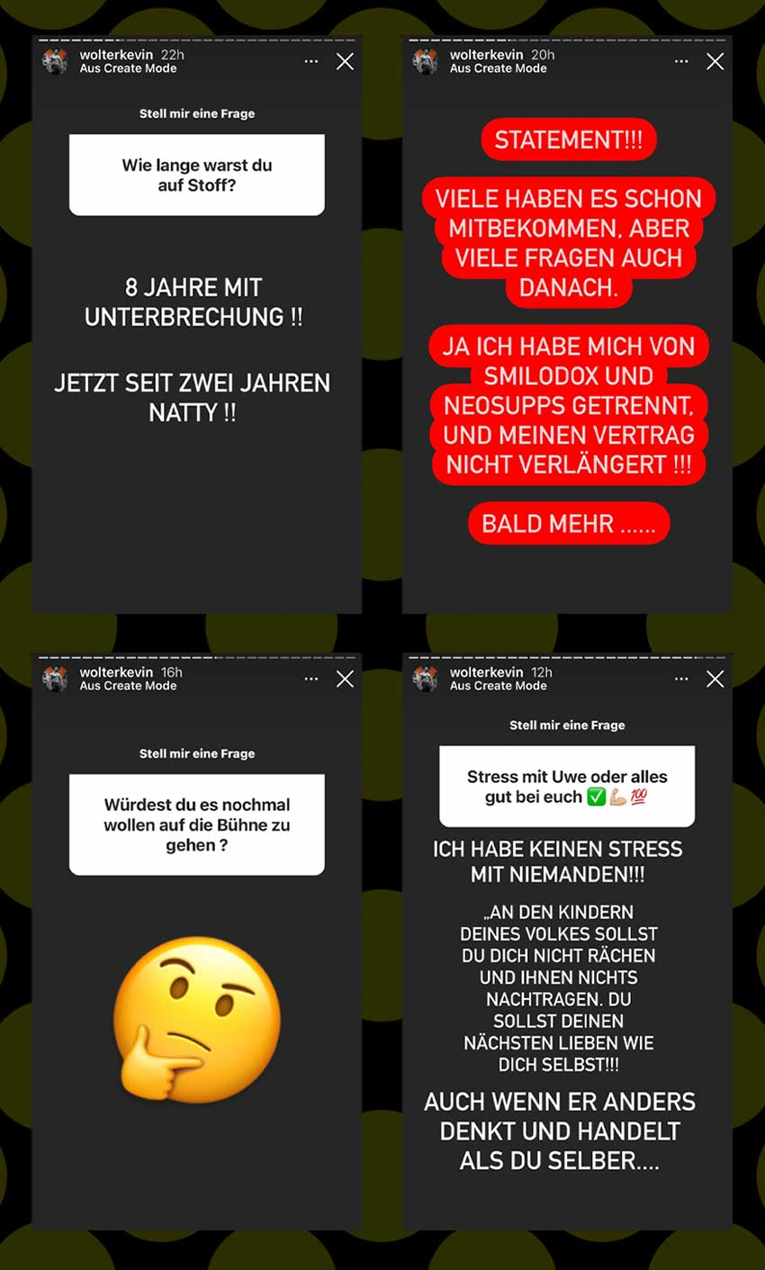 Storys: Kevin Wolter im Q&A